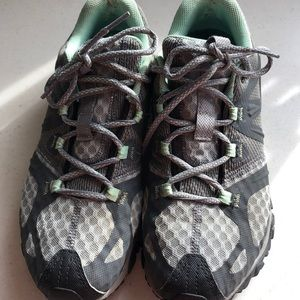 MERRELL O FIT IN SOLE HIKING SHOES 8.5